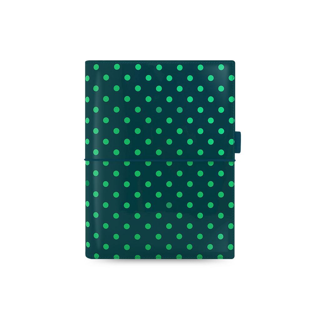 Organizér Filofax Domino Patent A5 / 022518 - zel. guľ.
