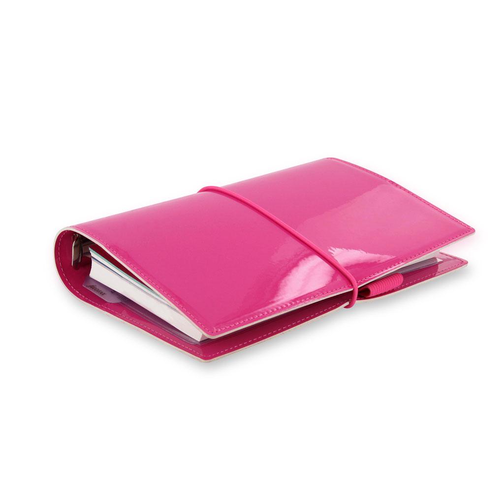 Organizér Filofax Domino Patent A6 / 022481 - ružový
