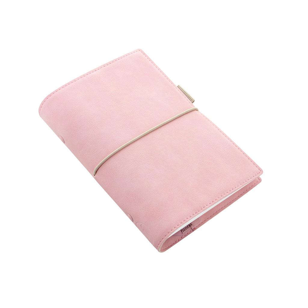 Organizér Filofax Domino Soft A6 / 022577 - ružový