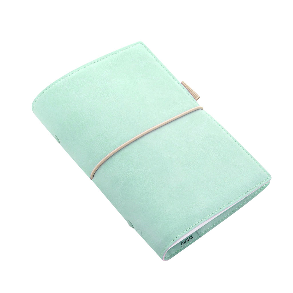 Organizér Filofax Domino Soft A6 / 022579 - zelený