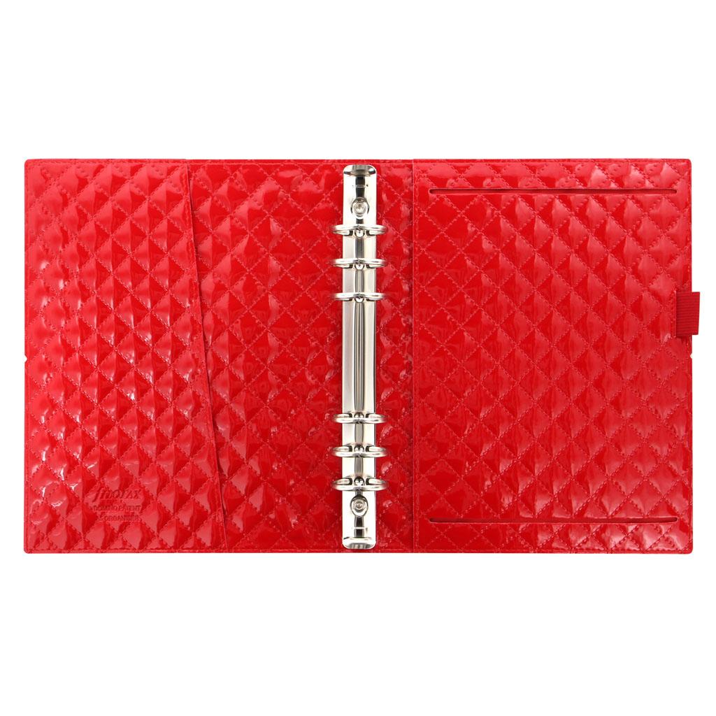 Organizér Filofax Domino Luxe A5 / 027985 - červený