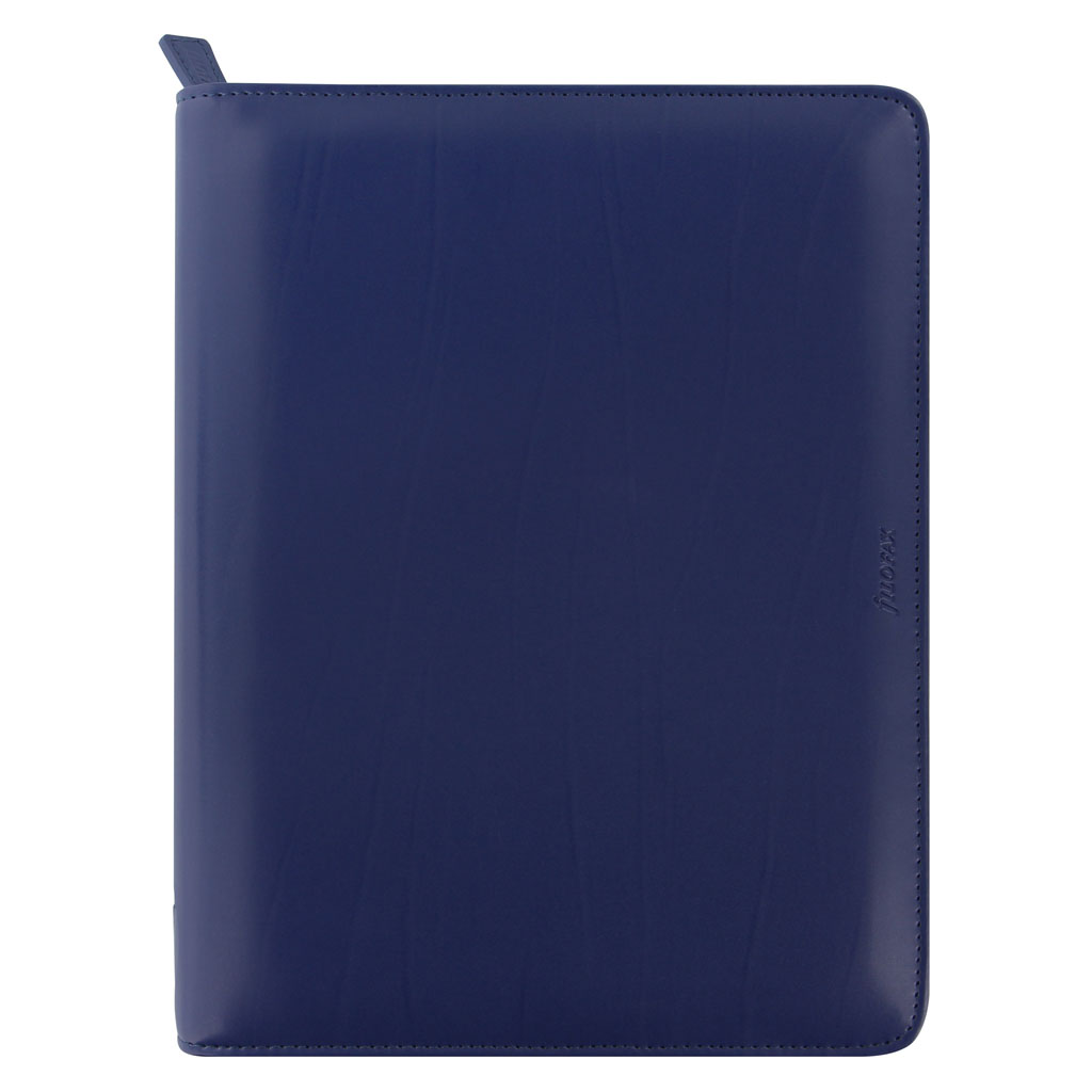 Organizér so zips. Filofax Metropol A5 / 026981 - námornícka modrá