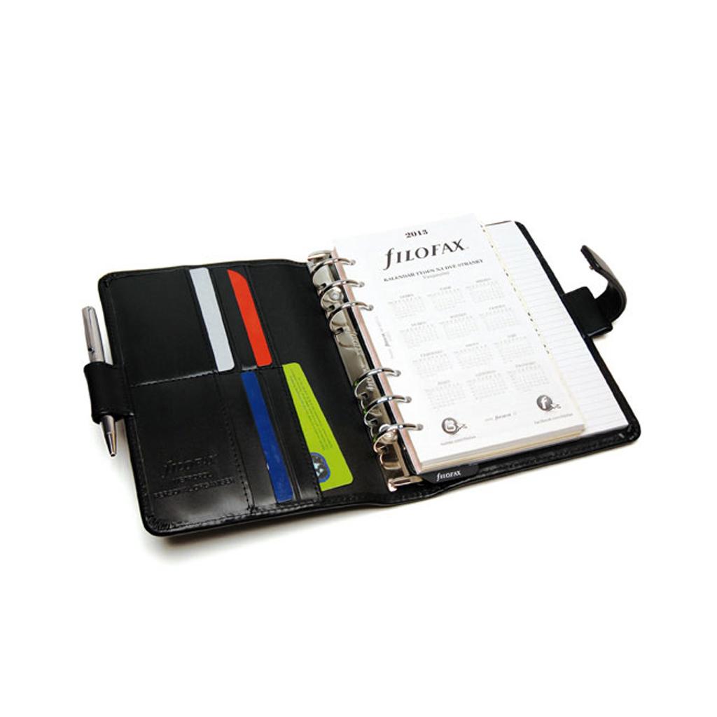 Organizér Filofax Metropol A6 / 026902 - čierny