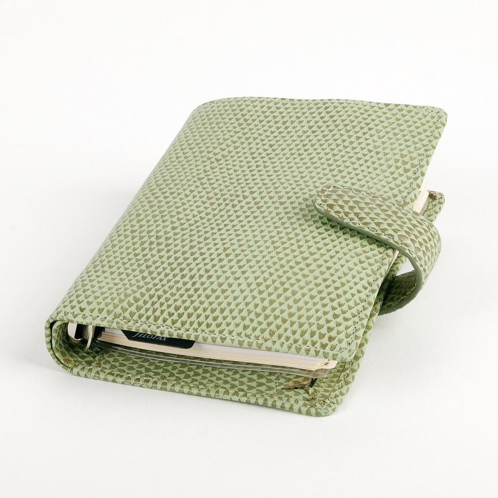 Organizér Filofax Chameleon A7 / 025428 - zelený