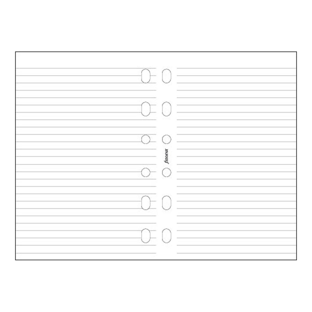 Náplň do organiz. FX A6 / 133008 - papier biely linajkový (30 listov)