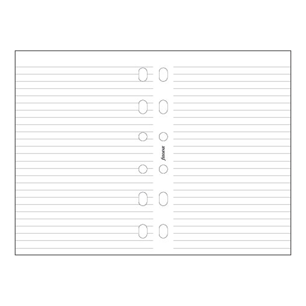 Náplň do organiz. FX A4 / 293008 - papier biely linajkový (20 listov)