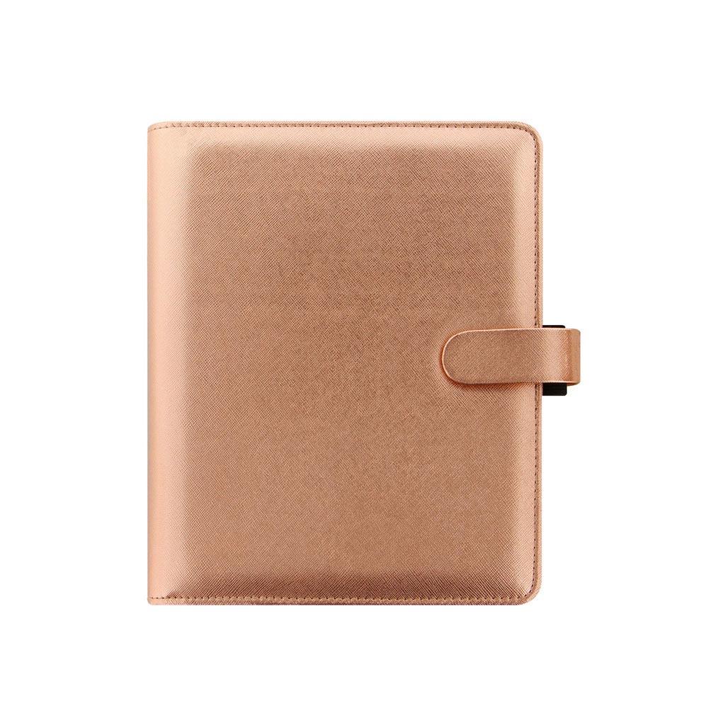 Organizér Filofax Saffiano rose gold A5 / 022572 - ružovo-zlatý