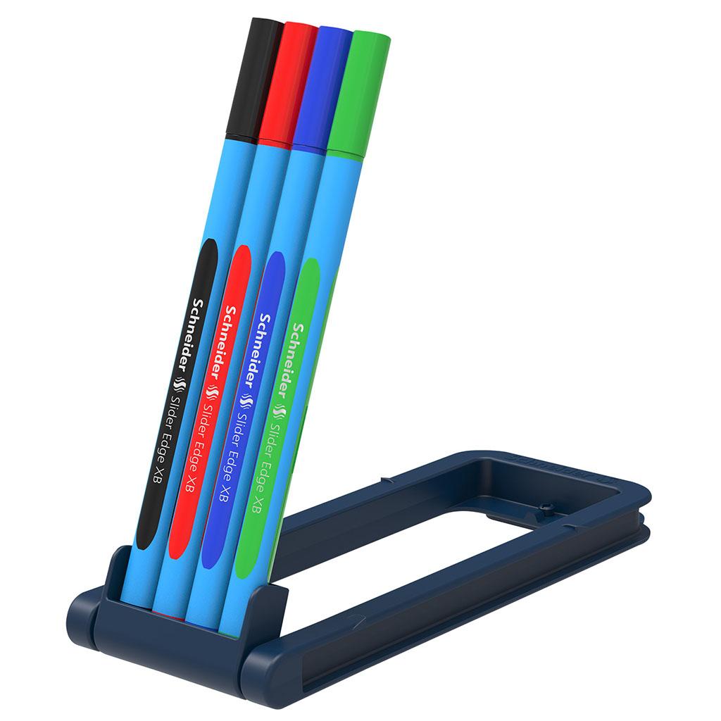 Schneider Slider Edge XB guľ. pero, gelové, farebné, 1,0 mm / 4 ks