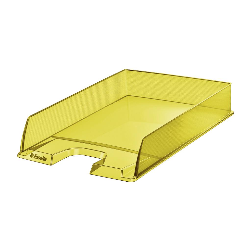 Esselte Colour'Ice Zásuvka stolová, žltá