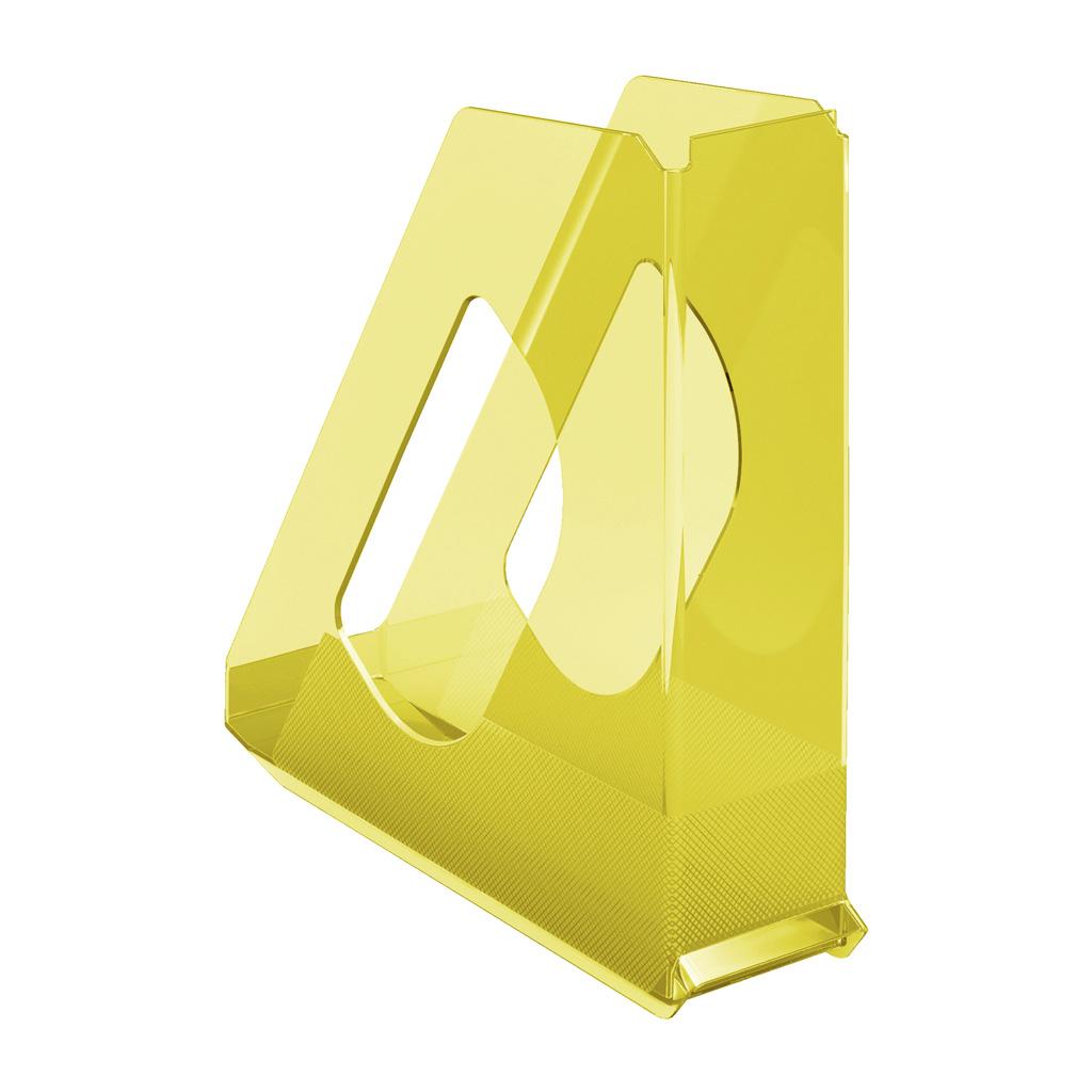 Esselte Colour'Ice Stojan na časopisy, žltá