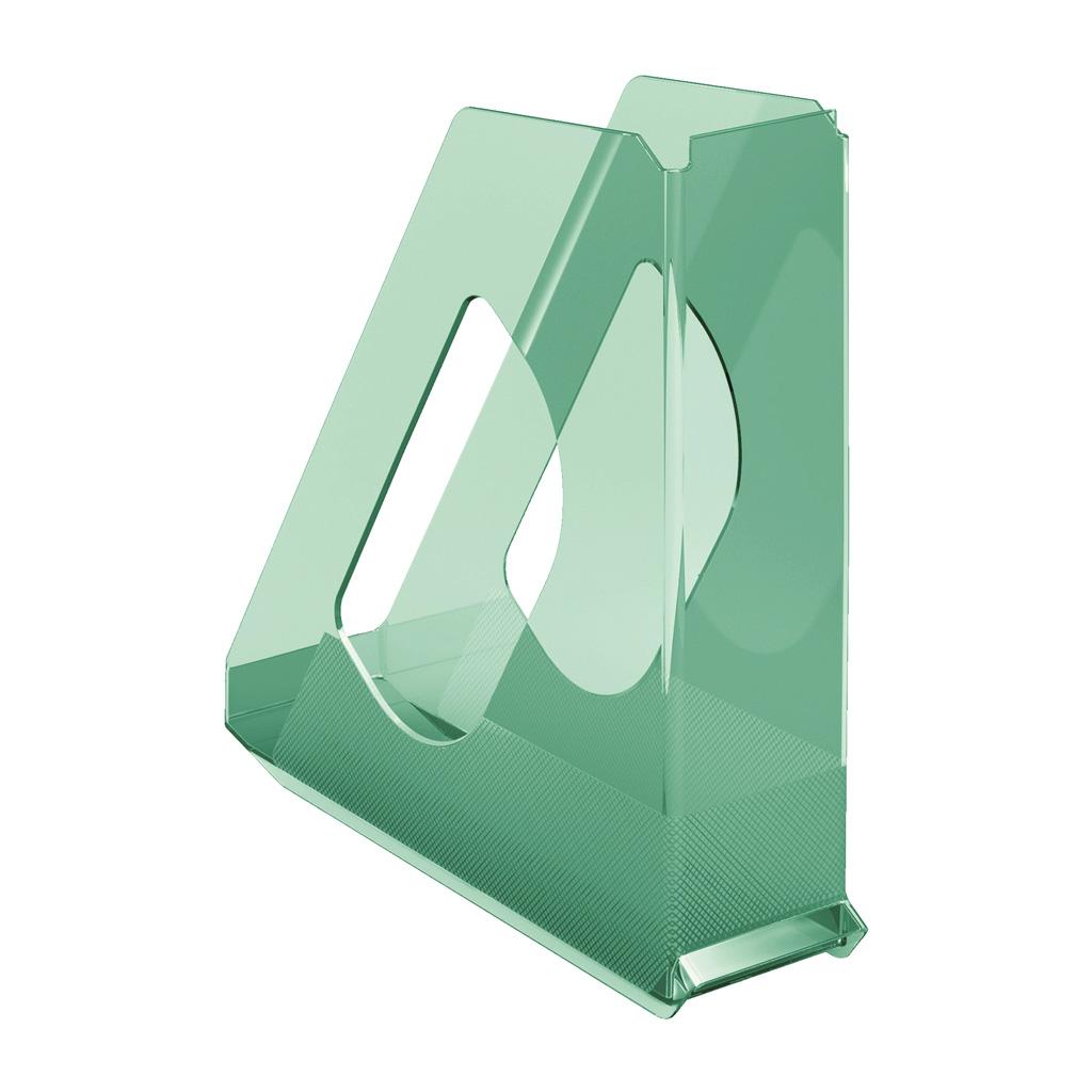 Esselte Colour'Ice Stojan na časopisy, zelená