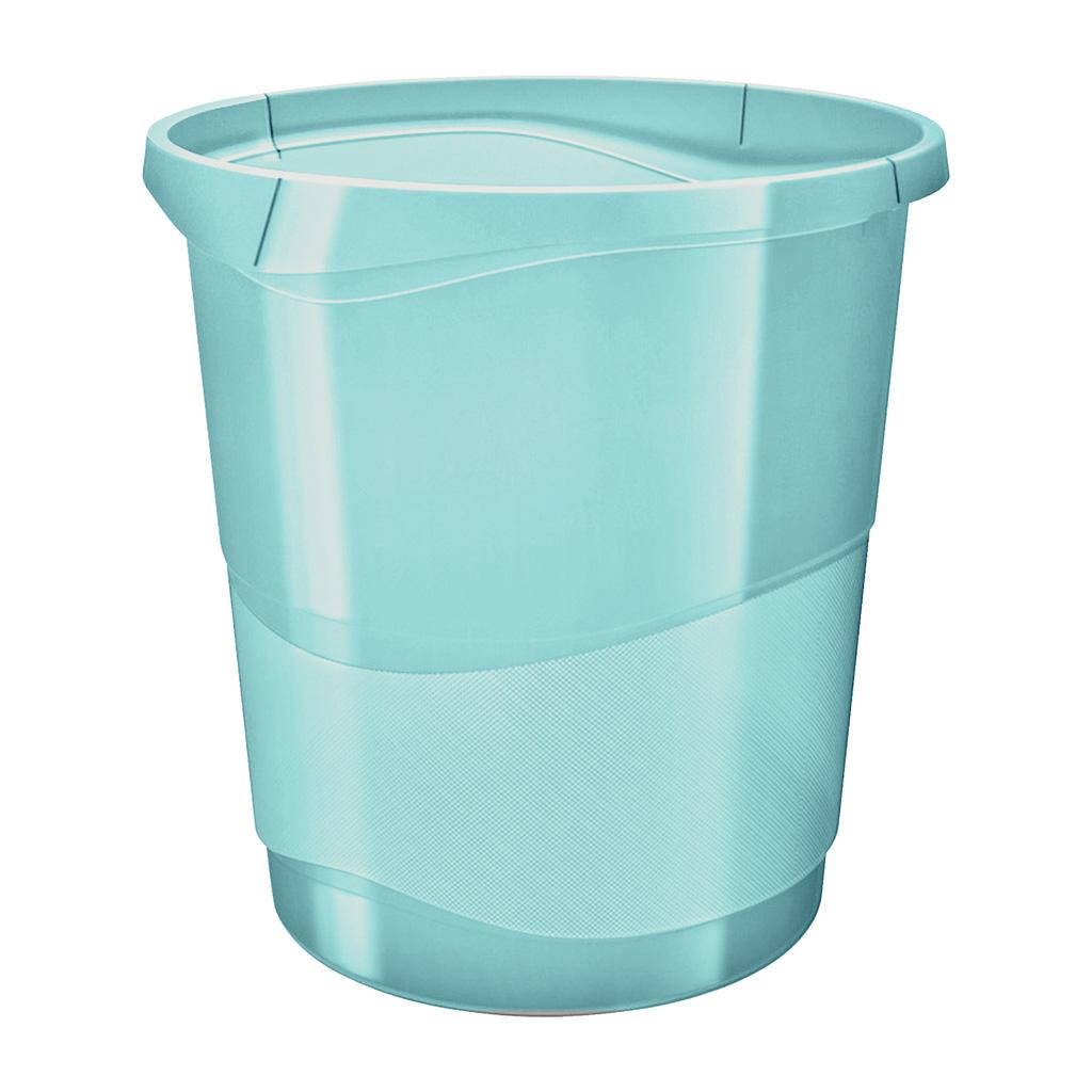 Esselte Colour'Ice Odpadkový kôš, 14l., modrá