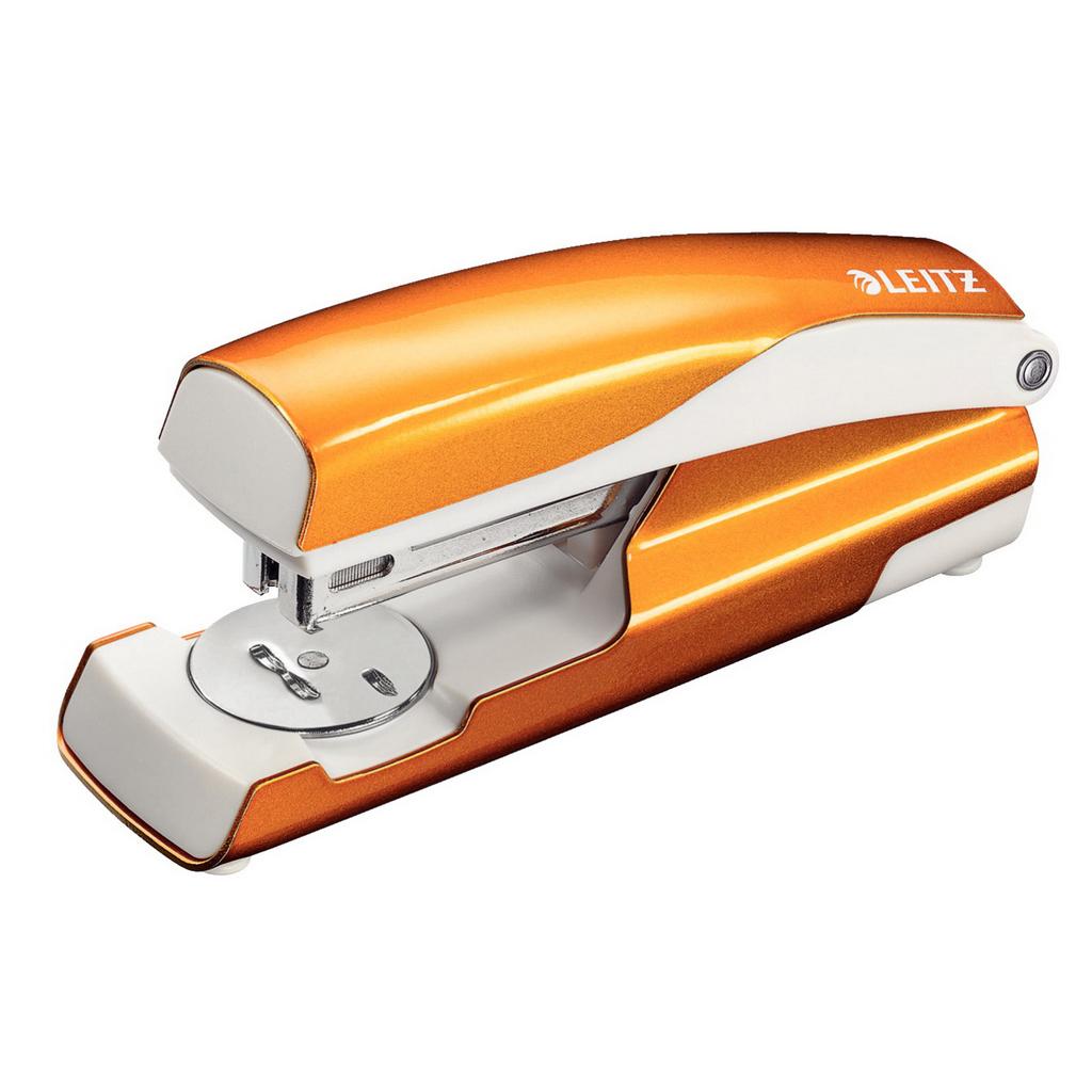 Leitz NeXXt Zošívačka 5502 24/6 kov., 30 l., metalická oranžová