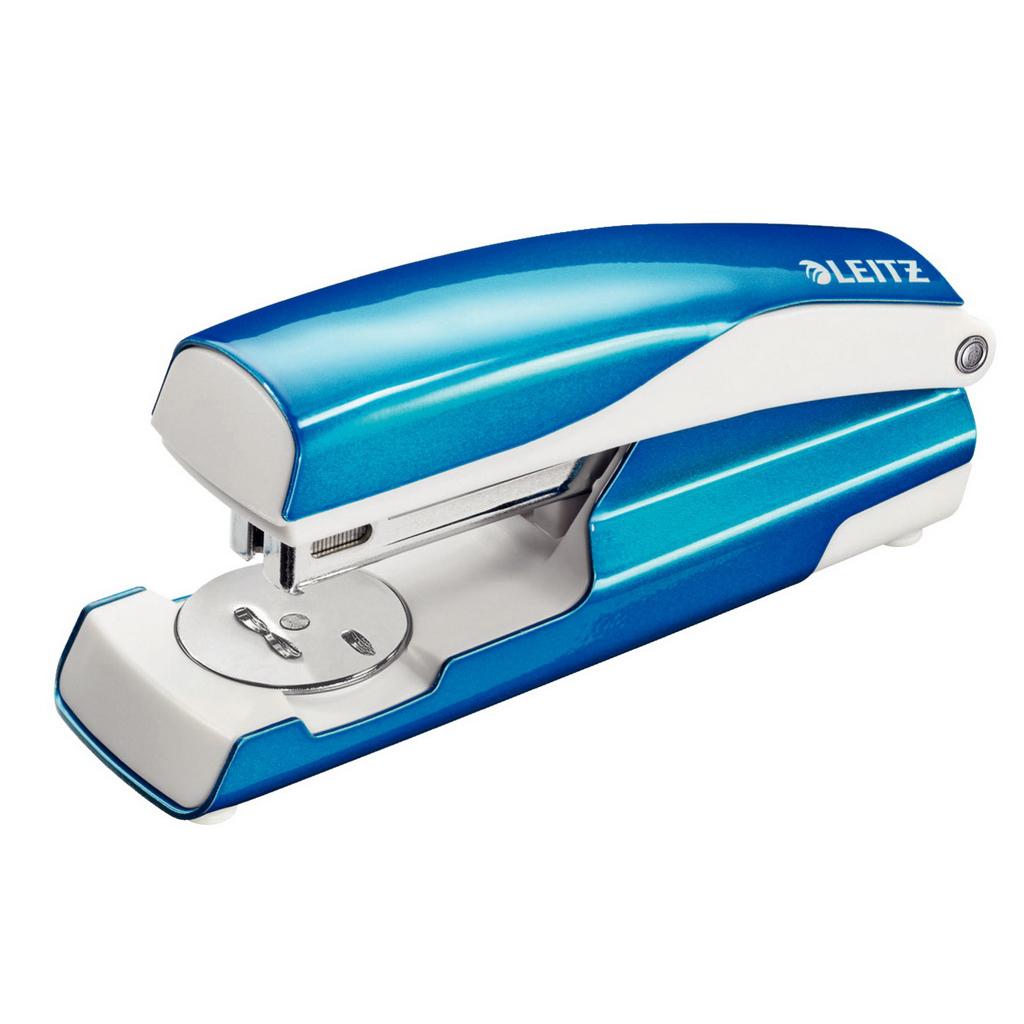 Leitz NeXXt Zošívačka 5502 24/6 kov., 30 l., metalická modrá