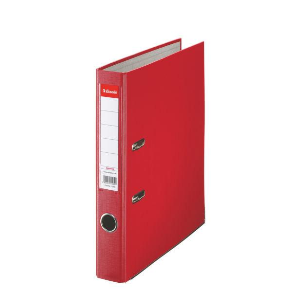 Esselte Economy Zakladač pákový A4 5 cm PP, červená