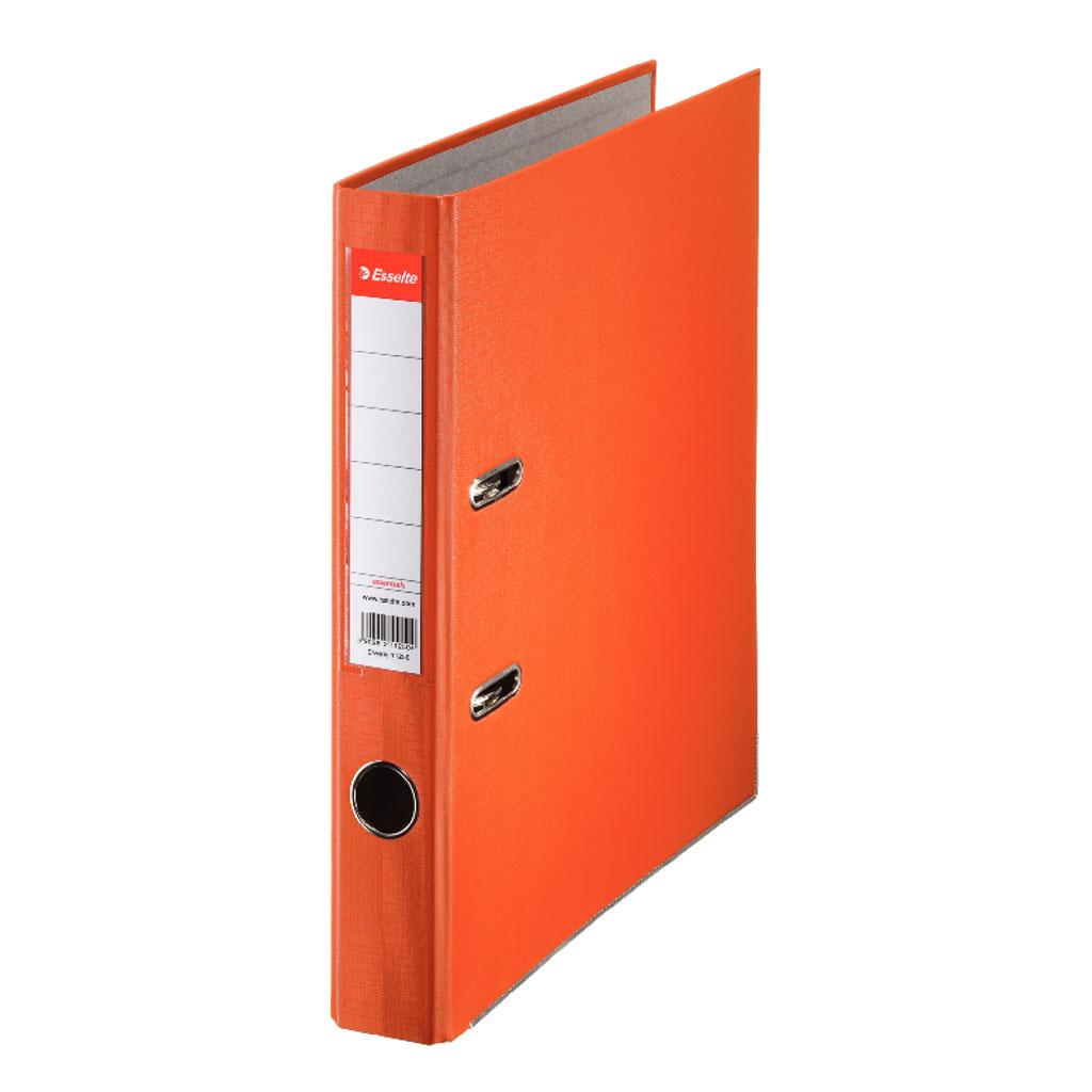Esselte Economy Zakladač pákový A4 5 cm PP, oranžová