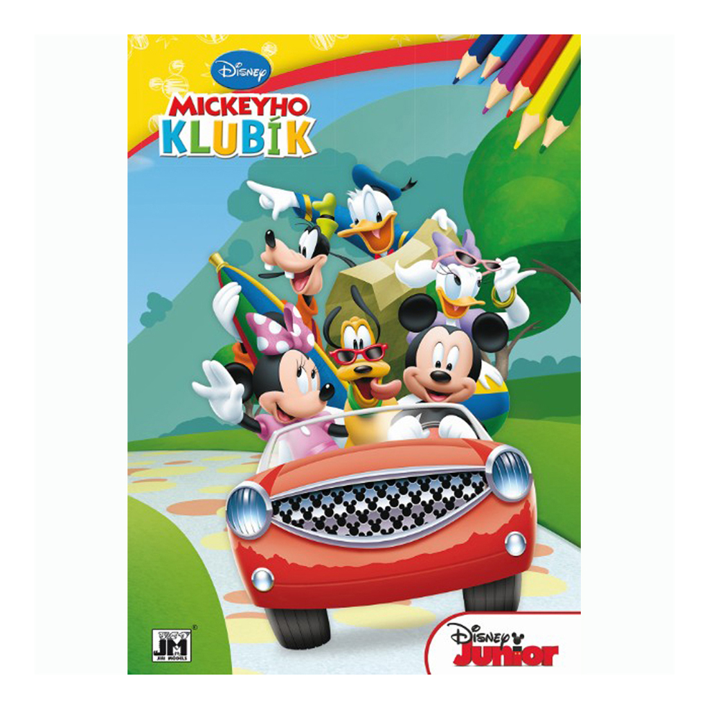 Mickeyho  klubík omaľovanky A4