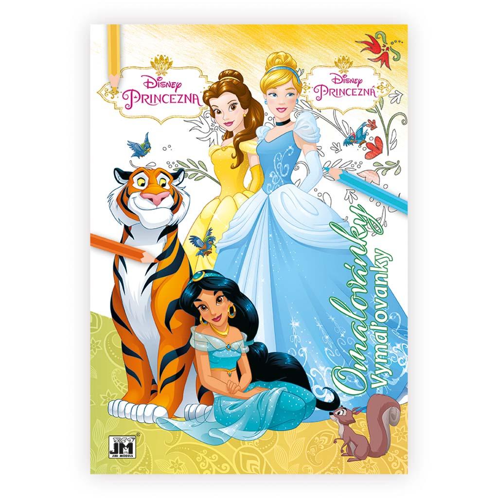 Princezné omaľovanky 2., A4