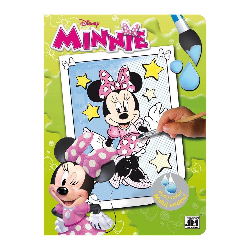 Minnie vodové omaľovánky