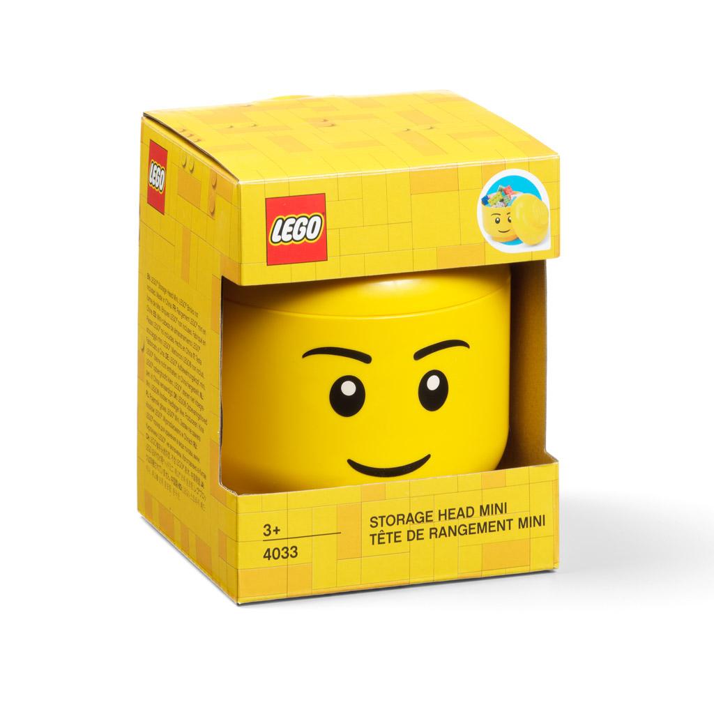 Úložná hlava (mini) - LEGO, chlapec