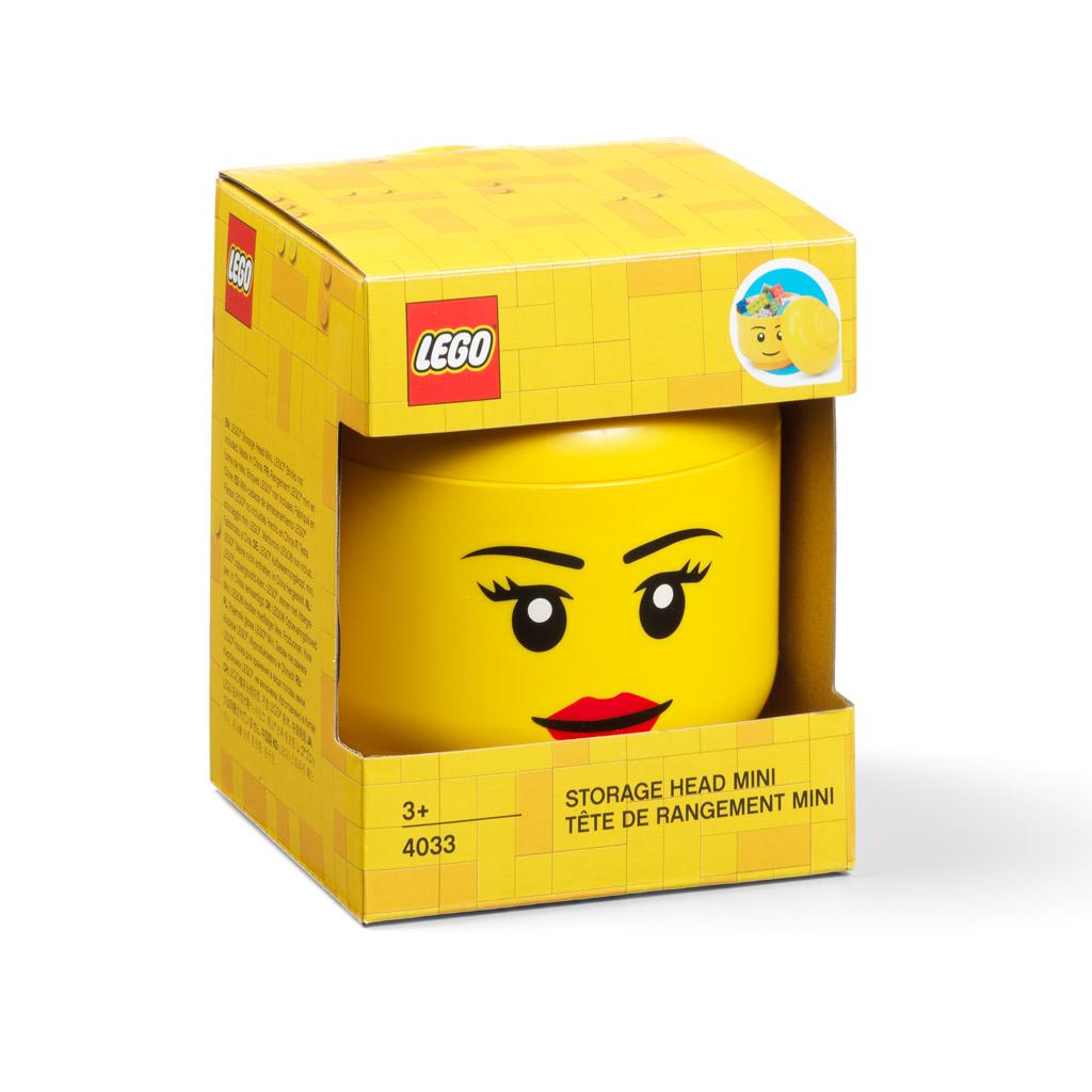Úložná hlava (mini) - LEGO, dievča