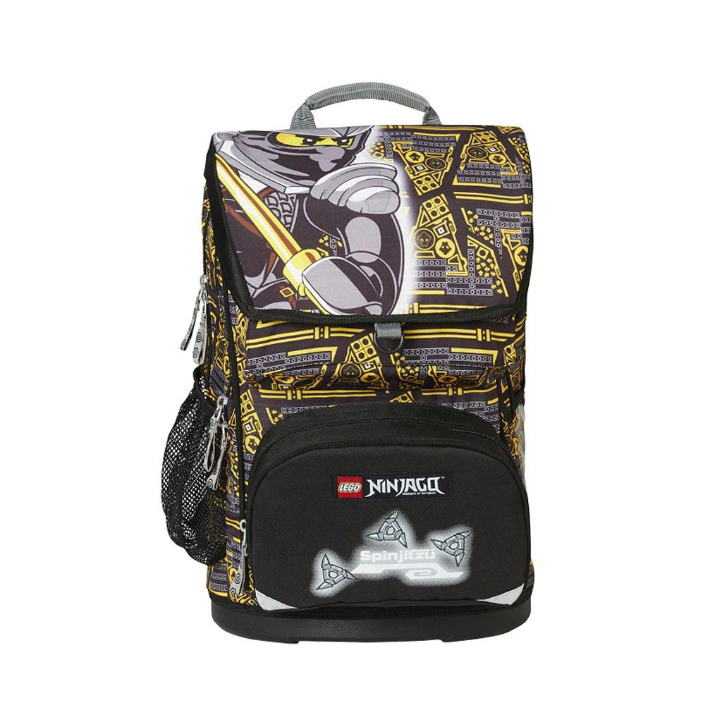 Školská taška - LEGO Ninjago Cole, Maxi, sada s taštičkou na prezuvky
