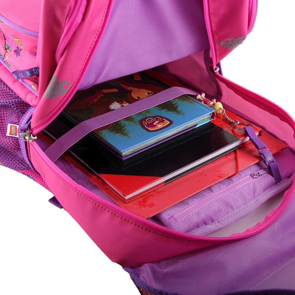 Školská taška - LEGO FRIENDS Good Vibes, Maxi, sada s taštičkou na prezuvky