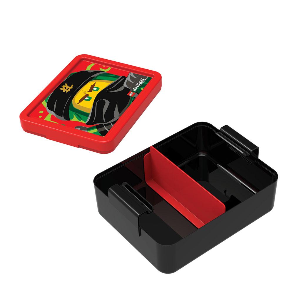Desiatový box - LEGO NINJAGO Classic, červený