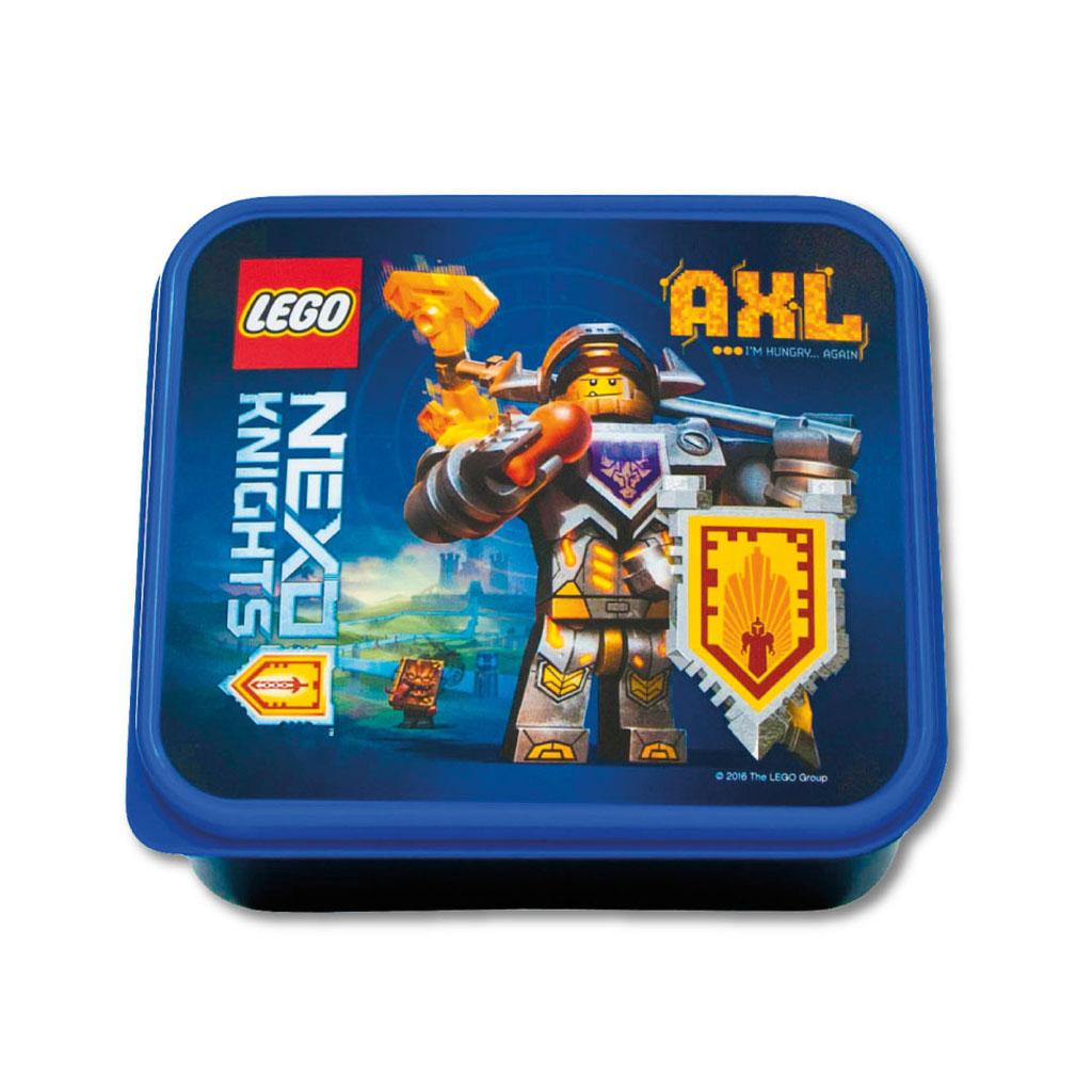Desiatový box - LEGO NEXO KNIGHTS, modrý
