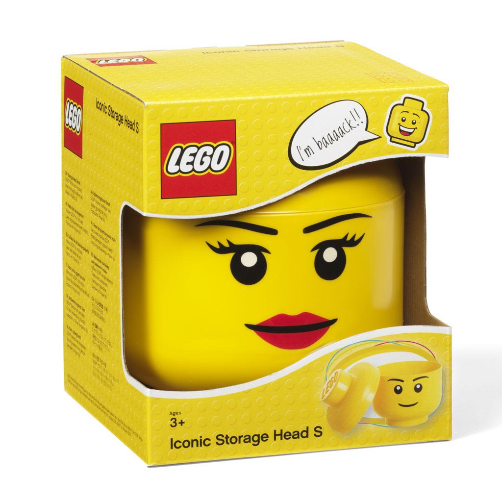 Úložná hlava - LEGO, dievča