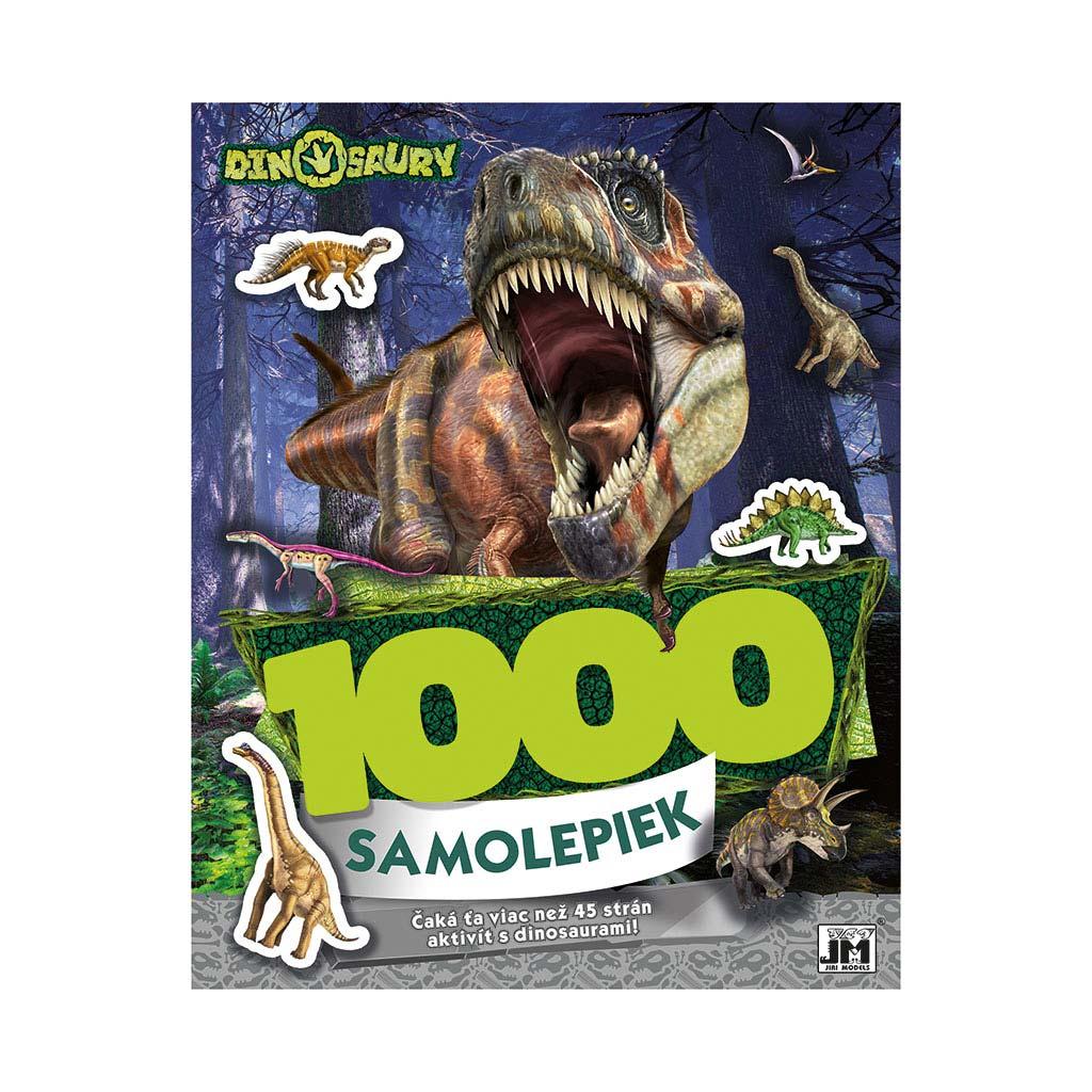 1000 samolepiek/ Dinosaury