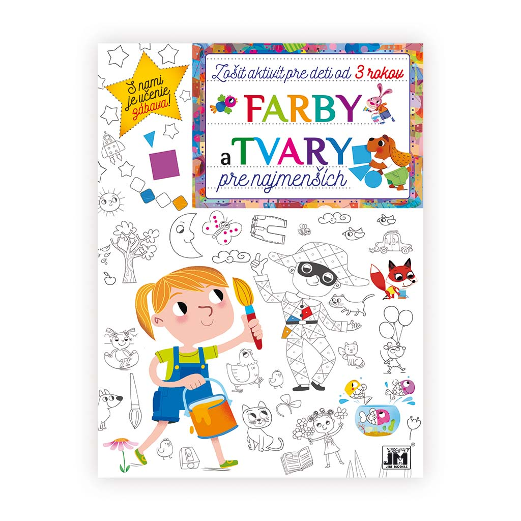 Zošit aktivít/ Farby a tvary