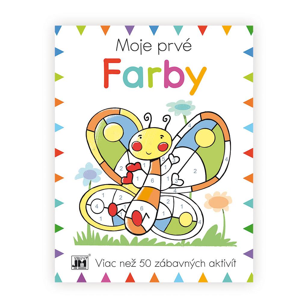 Prvá kniha aktivít/ Farby