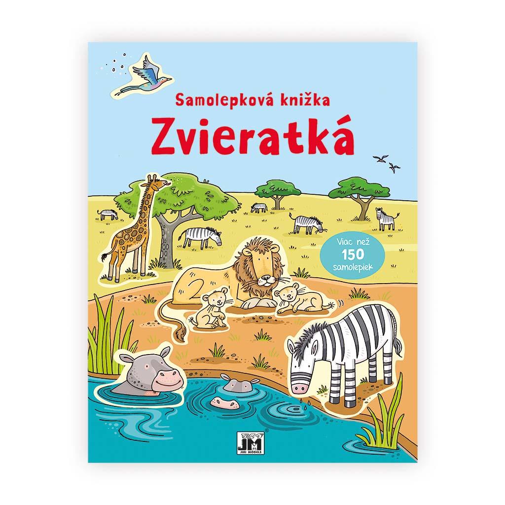 Samolepkové knižky / Zvieratká