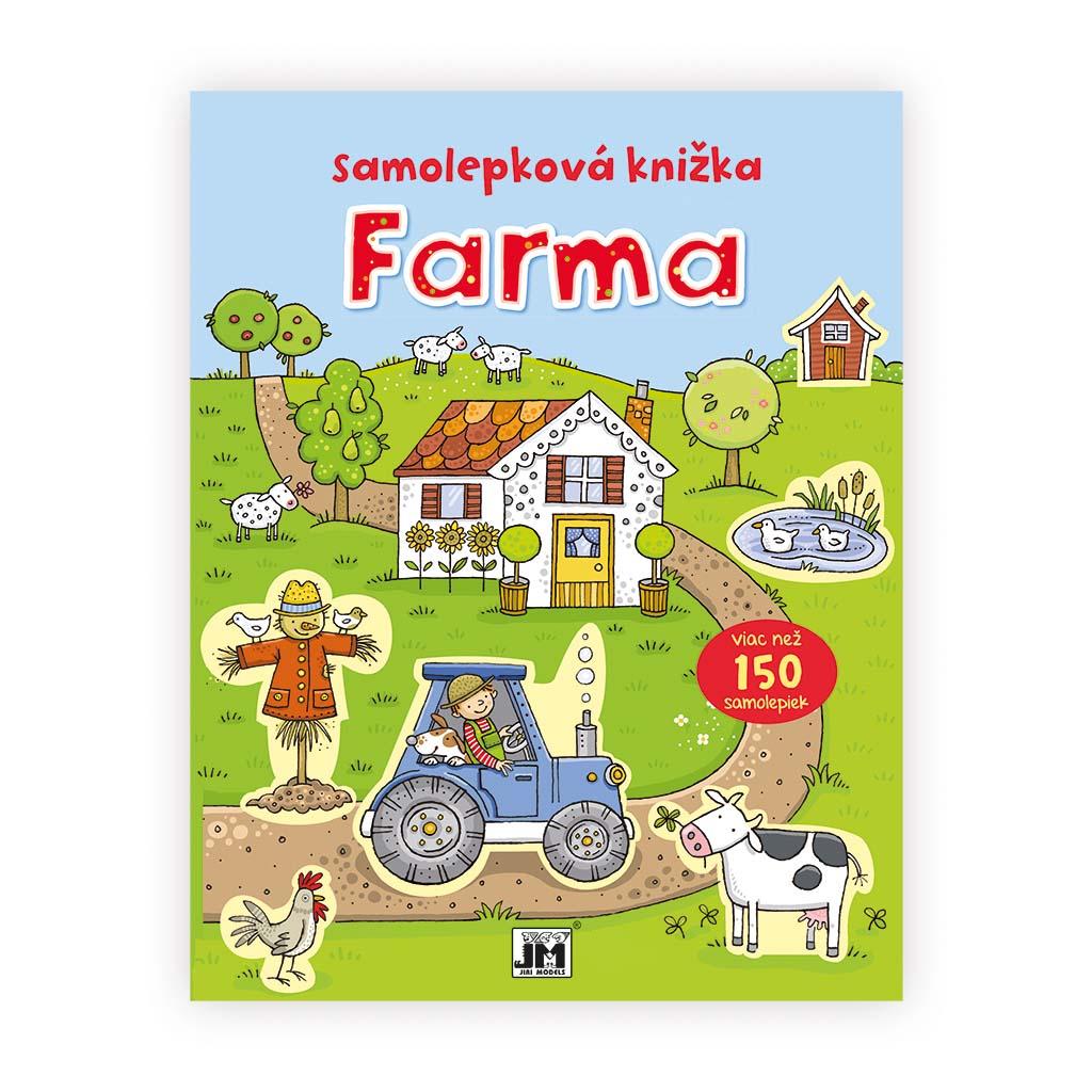Samolepkové knižky / Farma