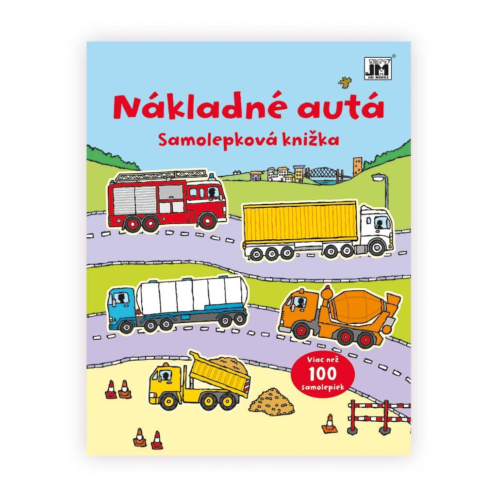 Samolepkové knižky / Nákladné autá
