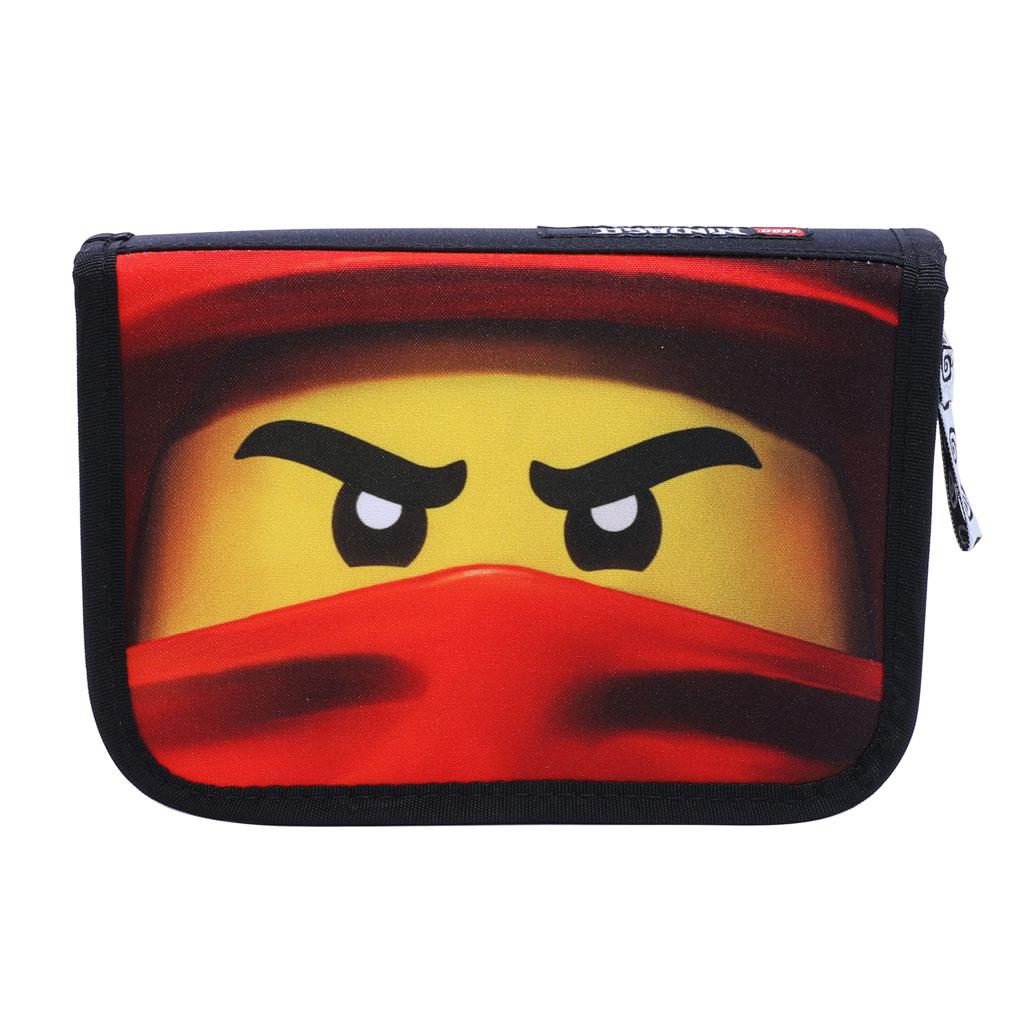 Peračník 1 zip., jednoposchodový, plný - LEGO NINJAGO KAI of Fire 2020