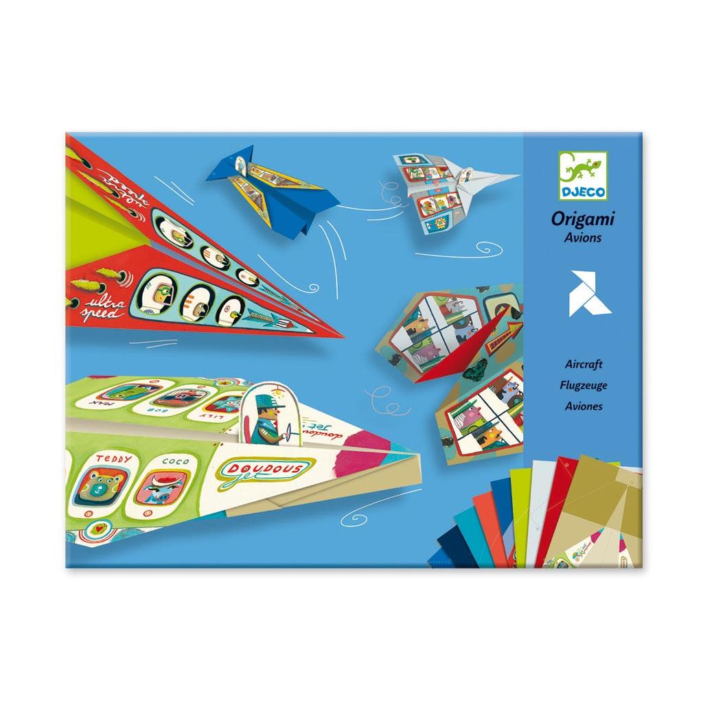 Djeco Tvorivá sada Origami lietadlá pre chlapcov