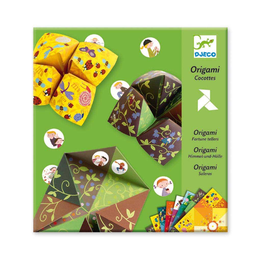 Djeco Tvorivá sada Origami Nebo, peklo, raj pre chlapcov