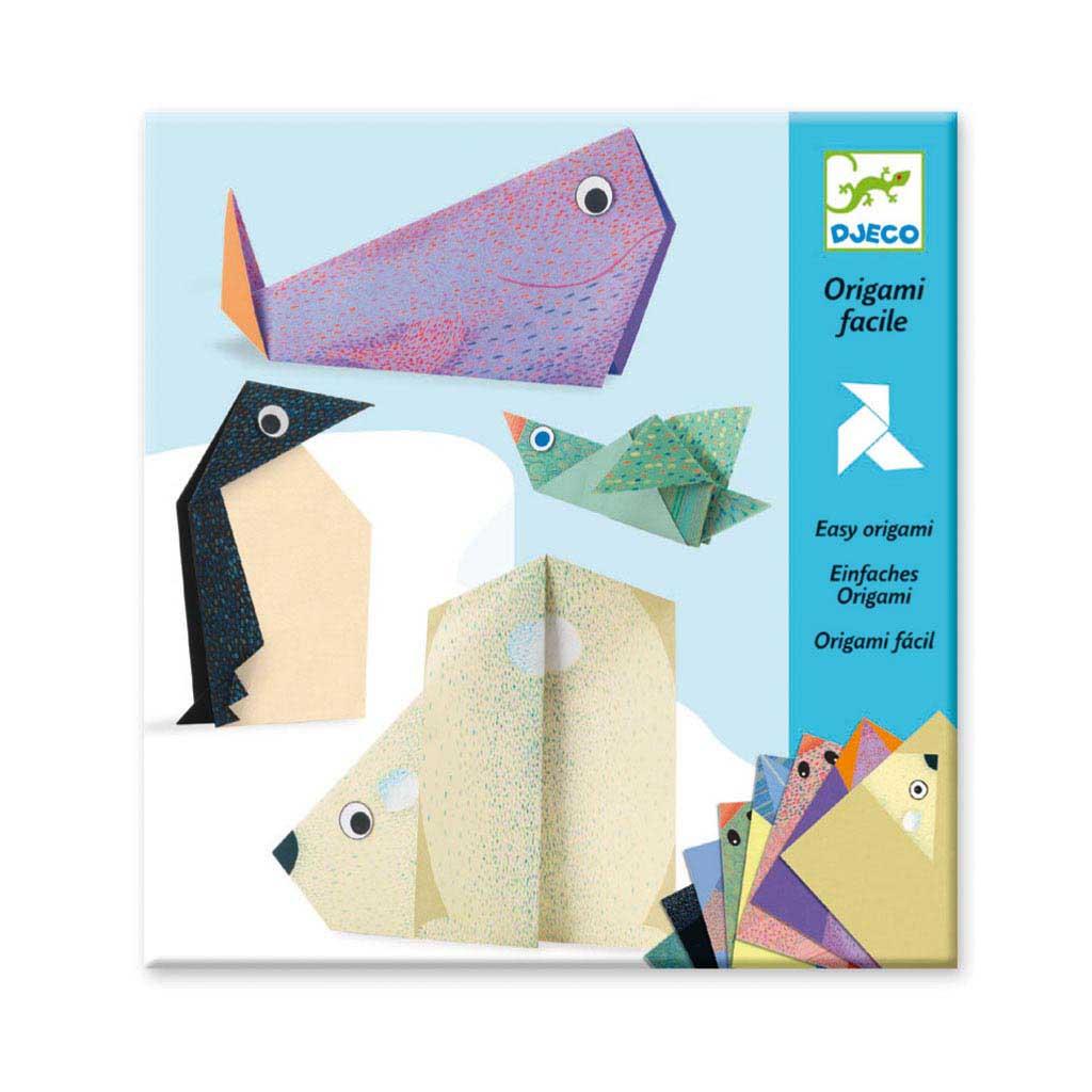 Djeco Tvorivá sada Origami Polárne zvieratká