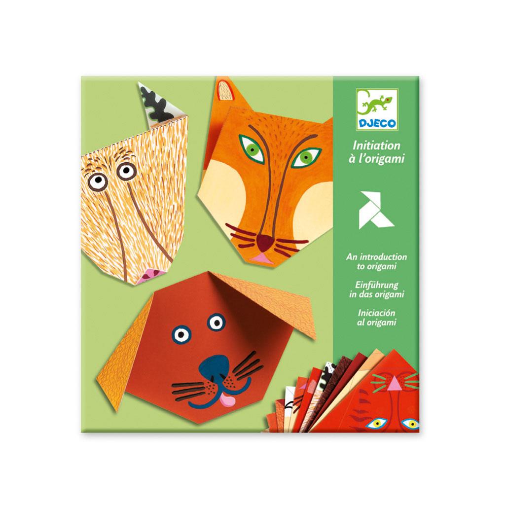 Djeco Tvorivá sada Origami Zvieratká