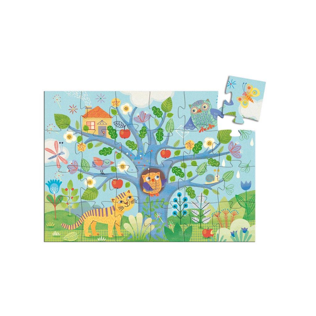 Djeco Puzzle, Silhouette, Sovičky, 24 ks