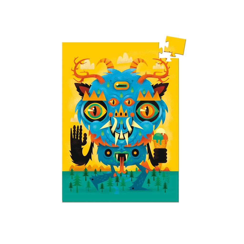 Djeco Mini Puzzle Monster