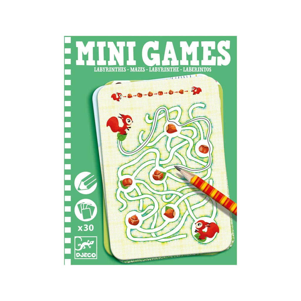 Djeco Mini Games Labyrint