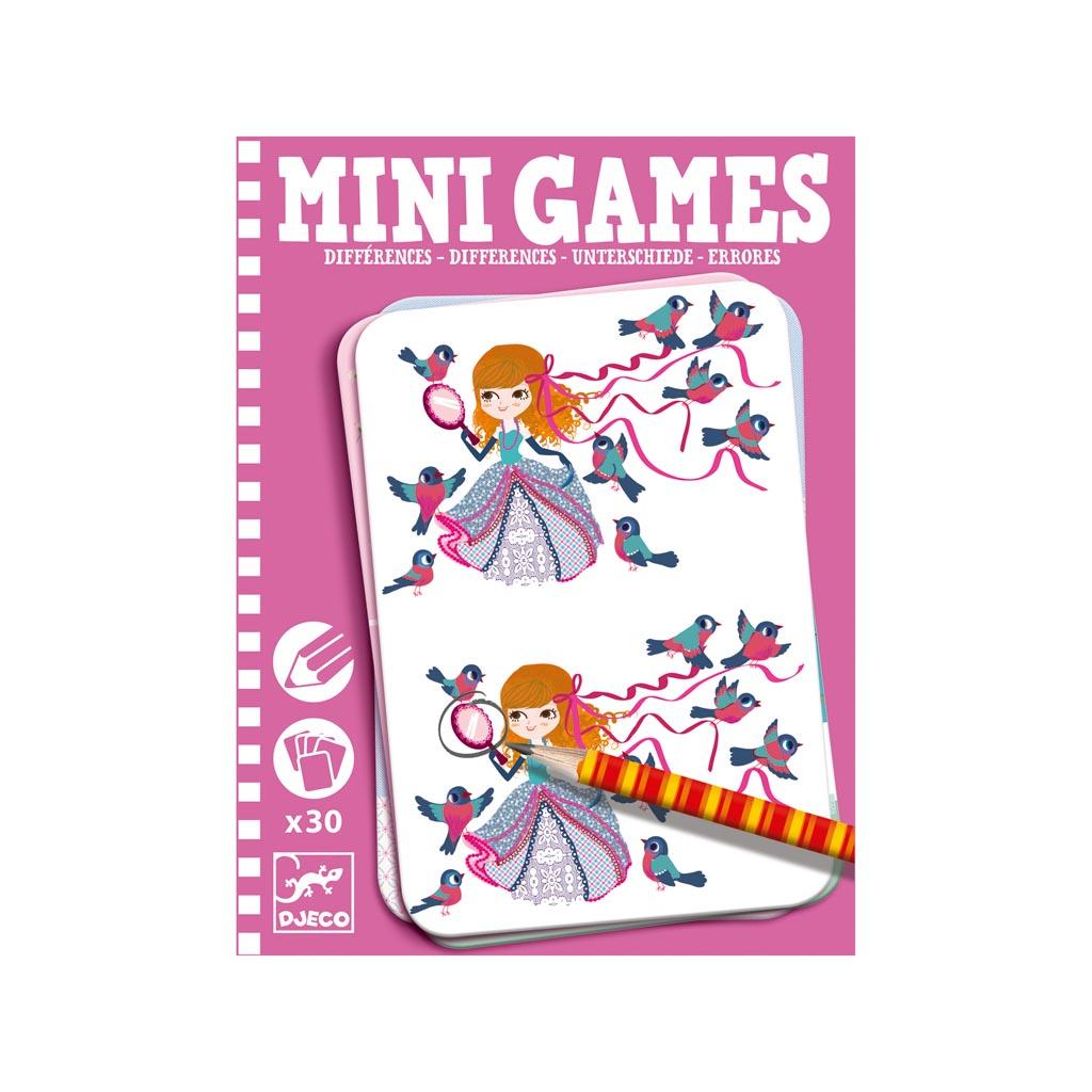 Djeco Mini Games Nájdi rozdiely pre dievčatá