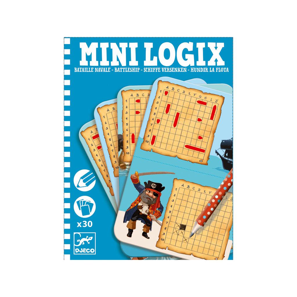 Djeco Mini Logix Námorná bitka