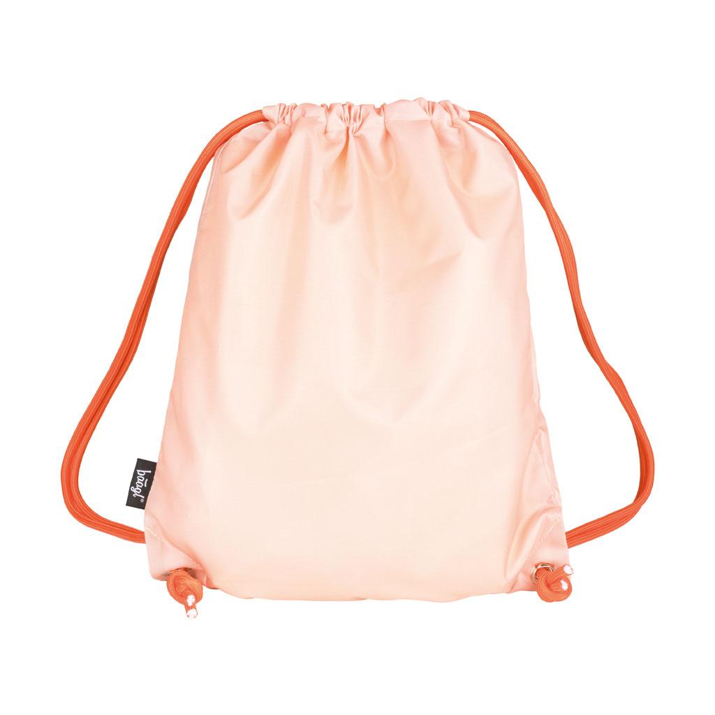 Vrecko na prezúvky - DARA, oranžové