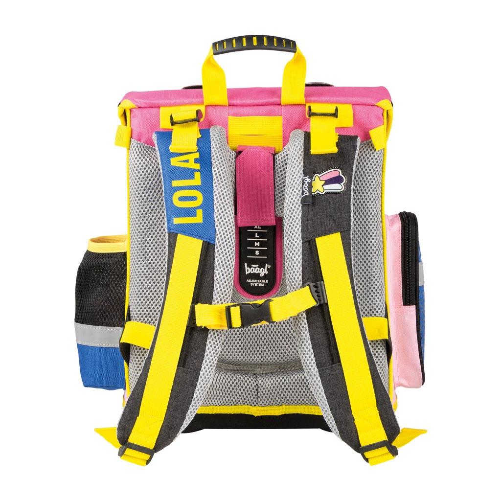 Anatomický batoh - LOLA, ružový