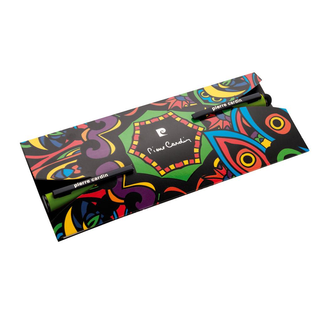 Pierre Cardin Celebration sada guľôčkové pero + roller, zelená