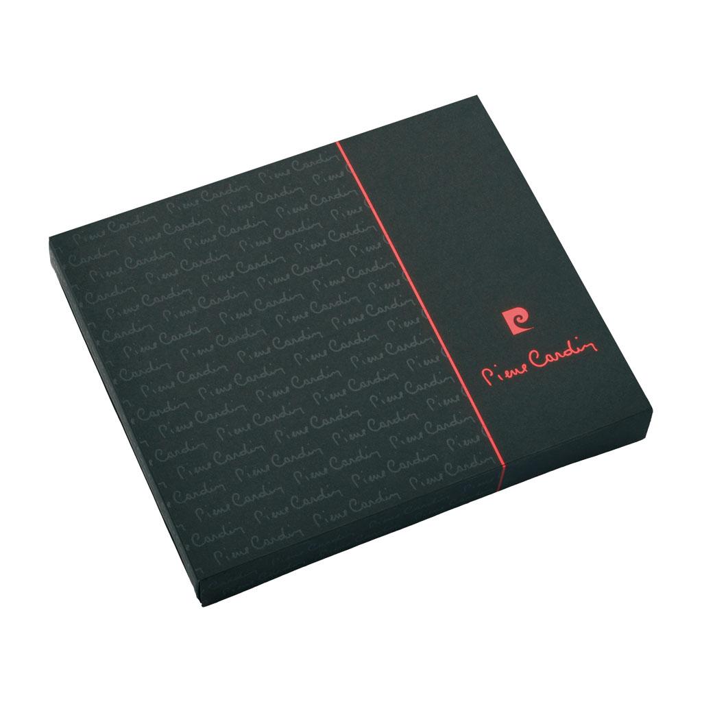 Pierre Cardin Arlas Blok A6 linajkový, 224 l., čierny + roller